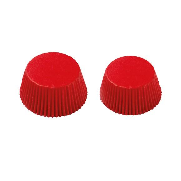 Pirottini rosso da 5 cm, 75 pezzi