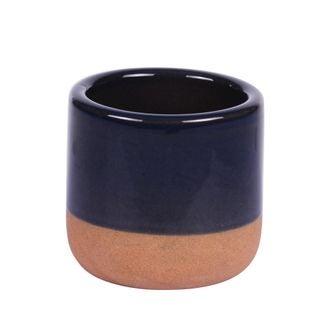 Mini pot à tapas bleu