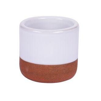 Mini pot à tapas blanc
