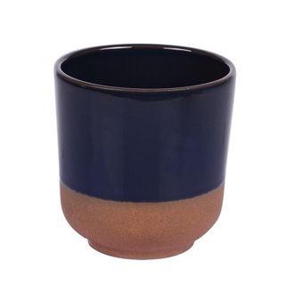 Pot à dips tapas bleu