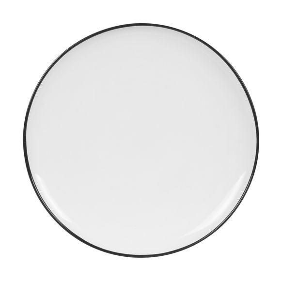 Achat en ligne Assiette plate black line