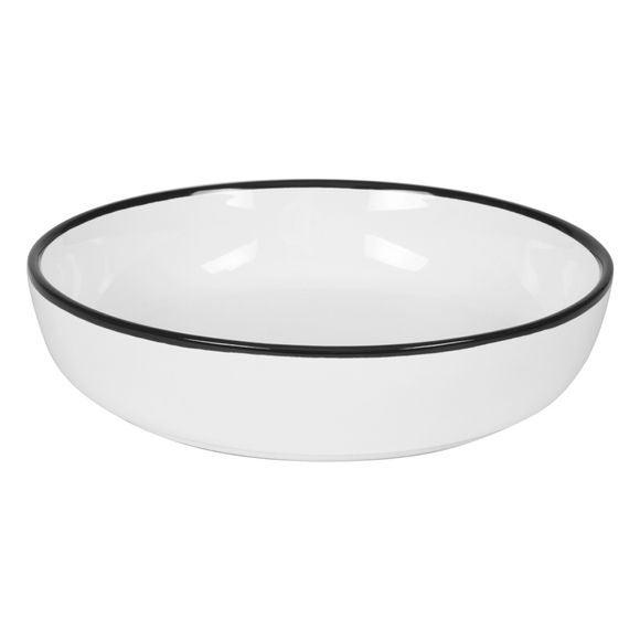 Achat en ligne Assiette calotte black line