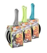 Achat en ligne Lot 2 casseroles anti-adhésives 16-18cm manchescouleurs