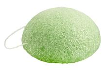 Achat en ligne Eponge naturelle visage argile verte peaux mixtes et grasses