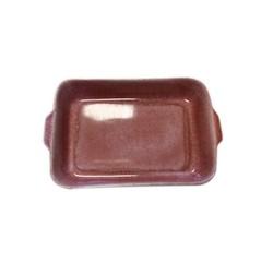 Achat en ligne Plat à four grès réactif rouge 33x12xH6,5cm
