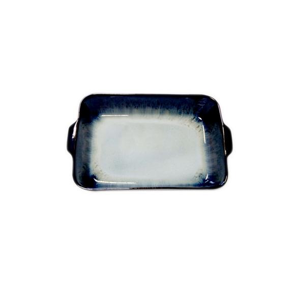 Achat en ligne Plat à four grès réactif noir dégradé 26x16xH5cm