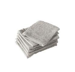 Achat en ligne Gant de toilette en coton gris Hélène