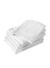 Achat en ligne Gant de toilette en coton blanc Hélène
