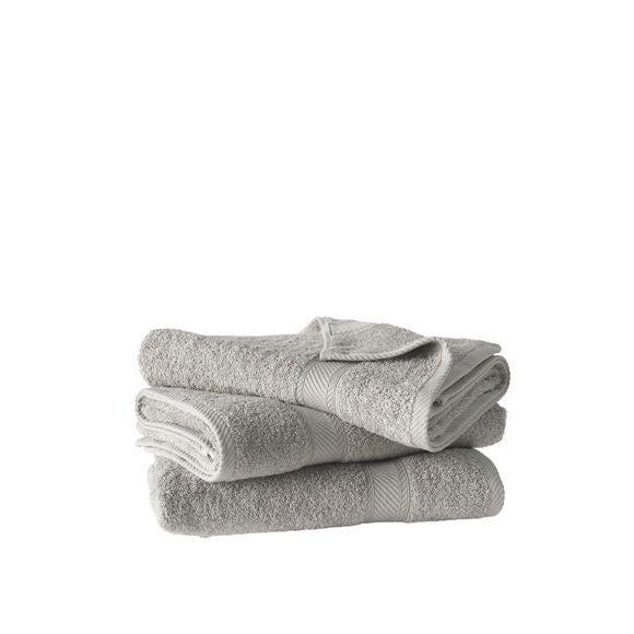 acquista online Asciugamano 70 x 140 cm grigio 450 g/m²