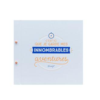 MR WONDERFUL - Grand album  C'est ici que je garde mes innombrables aventures