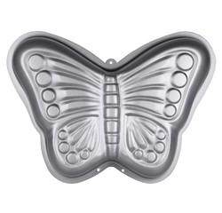 compra en línea Molde 3D de mariposa de metal antiadherente (23 x 32 cm)