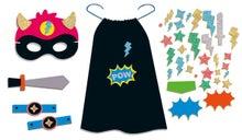 Achat en ligne Kit déguisement super héros noir