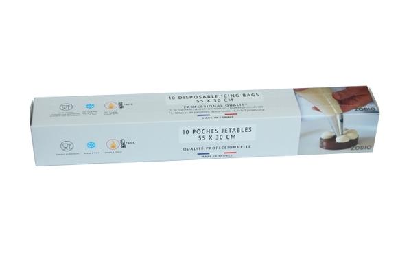 Achat en ligne Rouleau 10 poches à douilles comfort