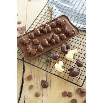 Moule silicone chocolat pâques