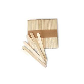 SILIKOMART - Set de 100 mini batons esquimaux bois