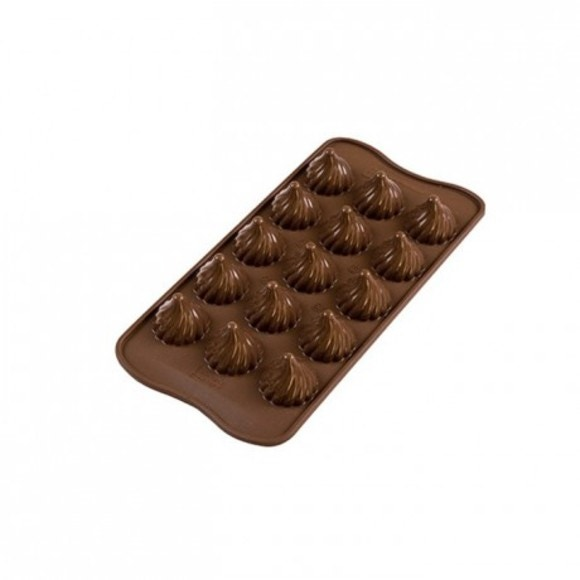 Moule silicone chocolat Choco Flame
