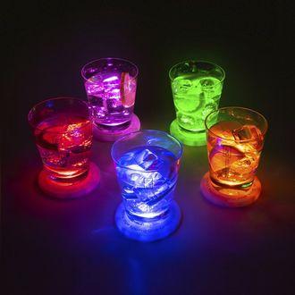 5 Dessous de verre à led