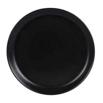 Assiette plate itit noir mat 25 cm