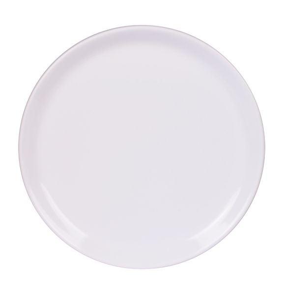 Assiette plate itit blanc brillant 25 cm