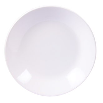 Assiette calotte itit blanc brillant 21 cm