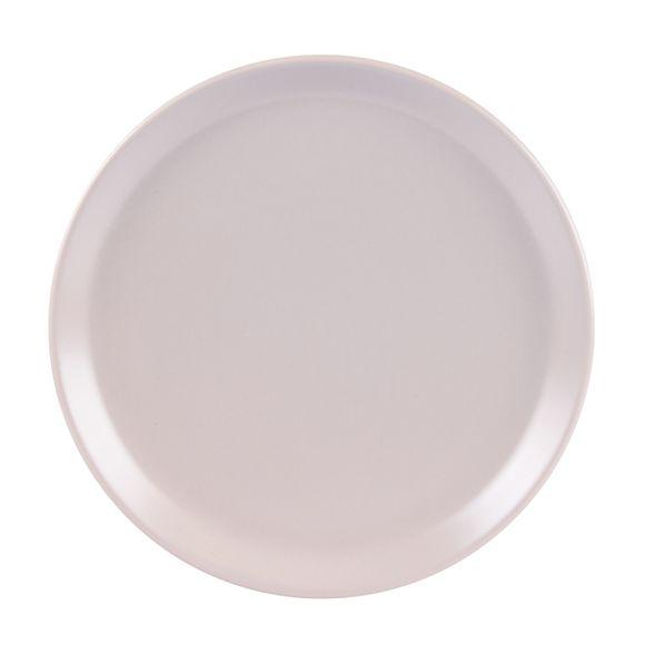 Assiette plate itit gris mat 25 cm