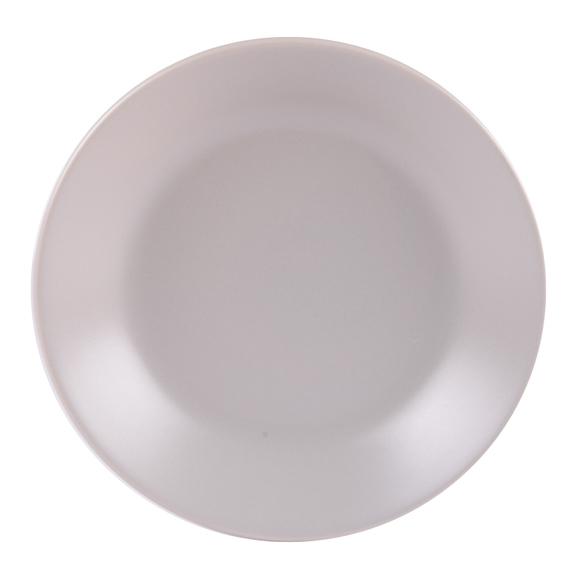 Achat en ligne Assiette calotte itit gris mat 21 cm