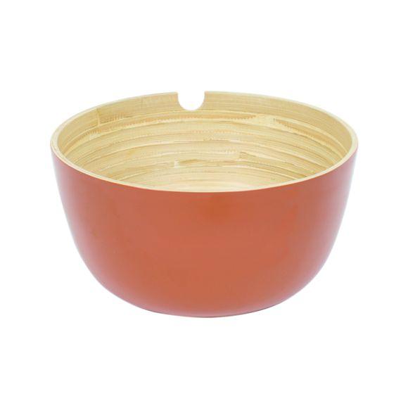 Insalatiera in bamboo, rosso Ø29cm