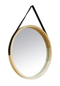 Achat en ligne Miroir rond barbier scandinave 35cm