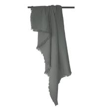 Achat en ligne Plaid en gaze de coton Colombe gris souris 130x150cm