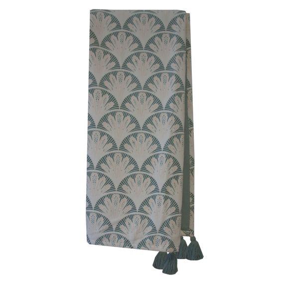 Achat en ligne Plaid en velours de coton Nala gris fumée 130x150cm