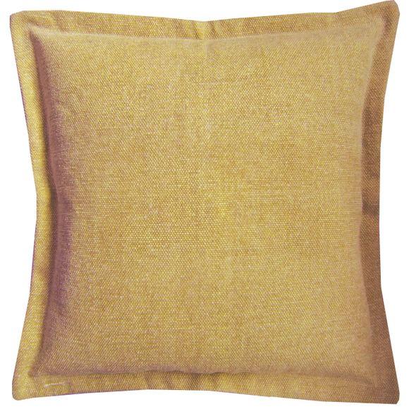 Achat en ligne Coussin de sol en canvas Côme jaune curry 60x60cm