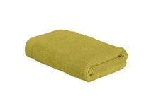 Achat en ligne Serviette invité 30x50cm en coton éponge warm olive
