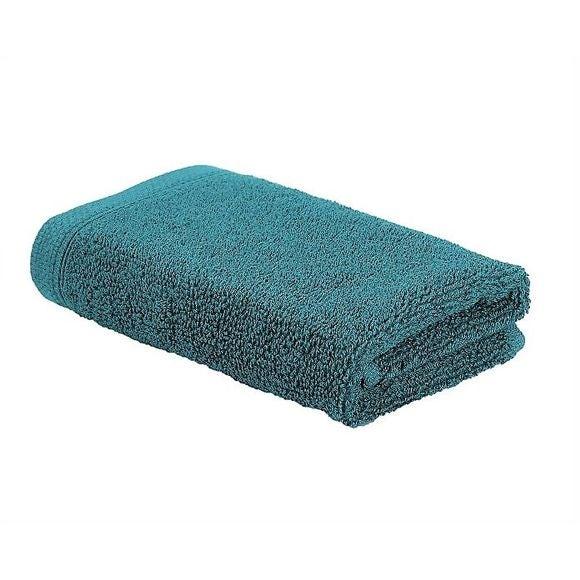 Serviette invité 30x50cm en coton éponge harbor blue