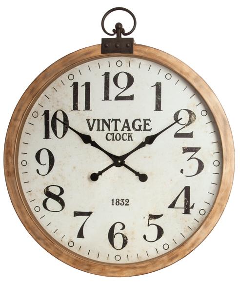 Achat en ligne Horloge gousset bois 74cm
