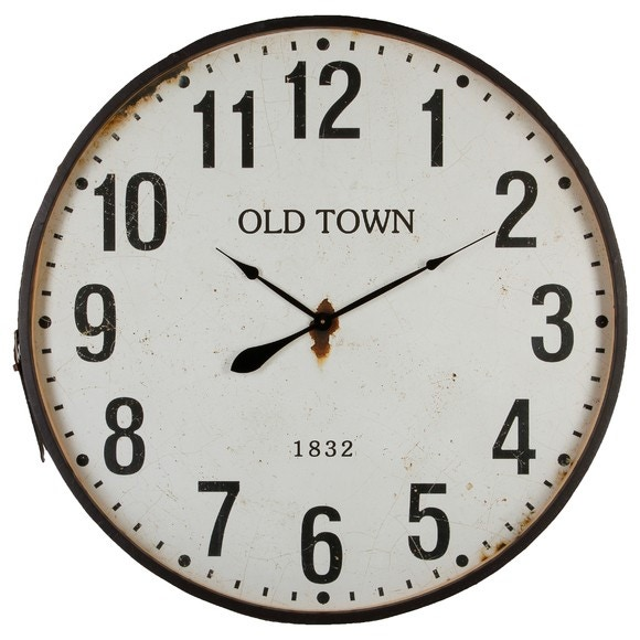 Horloge ceinture cuir 92cm
