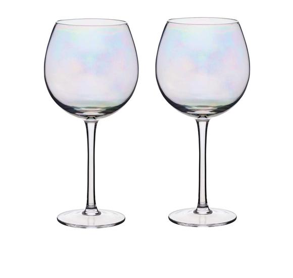 Achat en ligne Pack de 2 verres à Gin iridescent