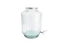 Achat en ligne Fontaine à boisson facette en verre recyclé Strepe 12l