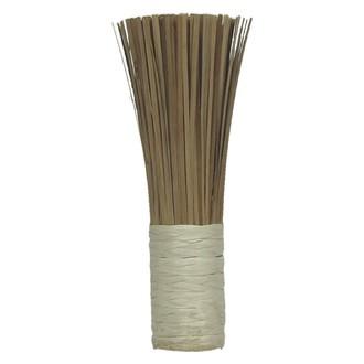 Petit balais bambou rotin naturel