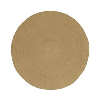 Set de table rond camel diamètre 38 cm