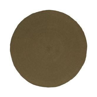 Set de table rond tabac diamètre 38 cm