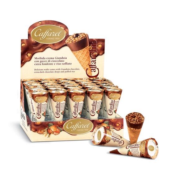 Achat en ligne Cornet gaufrettes  chocolat lait 25g