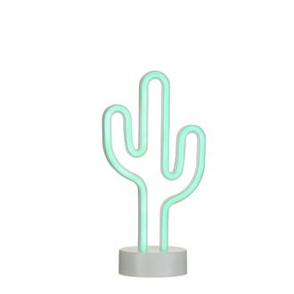 Luminaire led à piles cactus 15x10x29cm