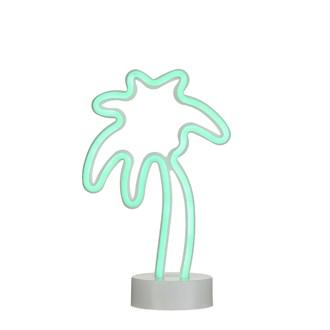 Luminaire led à piles palmier 17,5x10x28,5cm