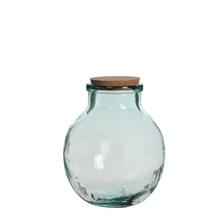 Achat en ligne Terrarium bocal en verre avec bouchon en liège Olly 25x21cm
