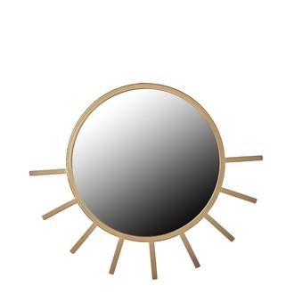 Miroir soleil or 50cm