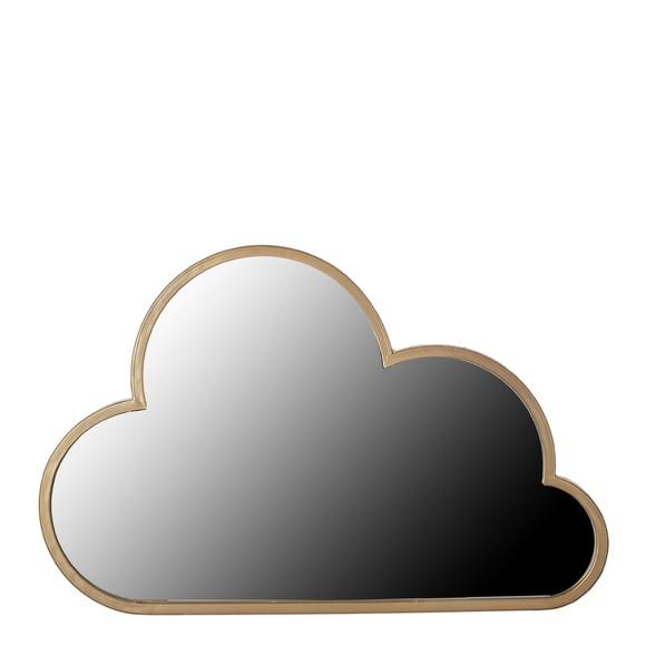 Miroir nuage or 55cm