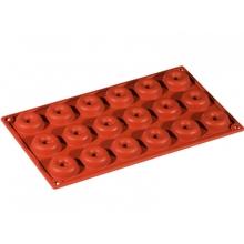 Achat en ligne Moule à 18 mini babas ou savarins en silicone 30x17,5cm