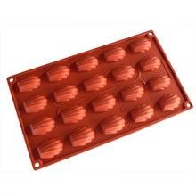 Achat en ligne Moule à 20 mini madeleines en silicone 30x17,5cm
