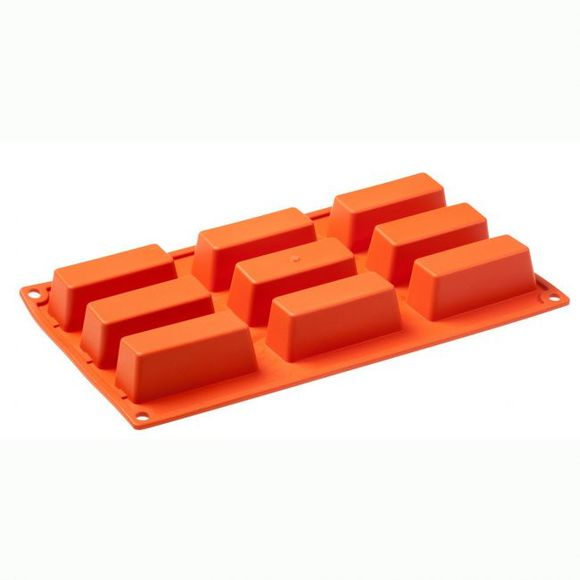 Stampo 9 mini torte in silicone