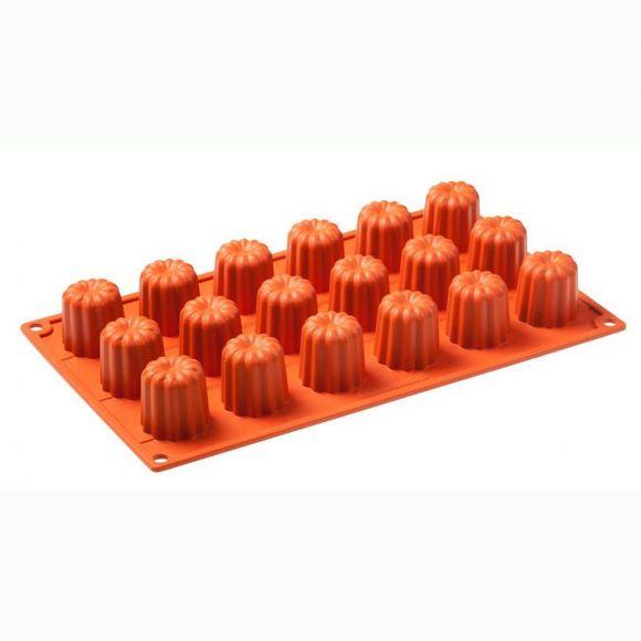 Stampo 18 mini plumcake scanalati